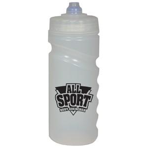 Sports bottle 300ml clear