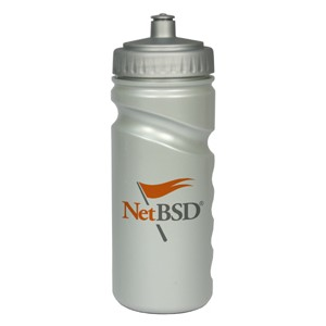 Sports bottle Silver 500ml