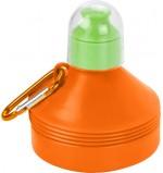 600ml Foldable Drinking Bottle - Orange